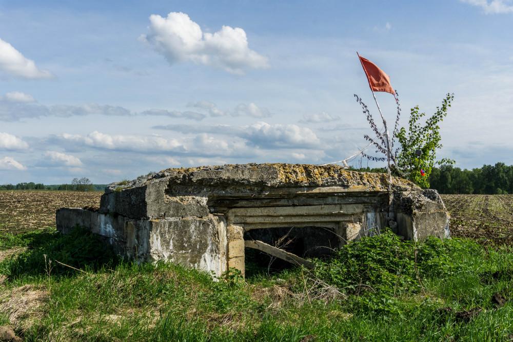 Vernietigde Bunker Melkulievo