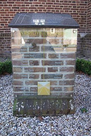 Monument 'Sporen die bleven' Oirlo