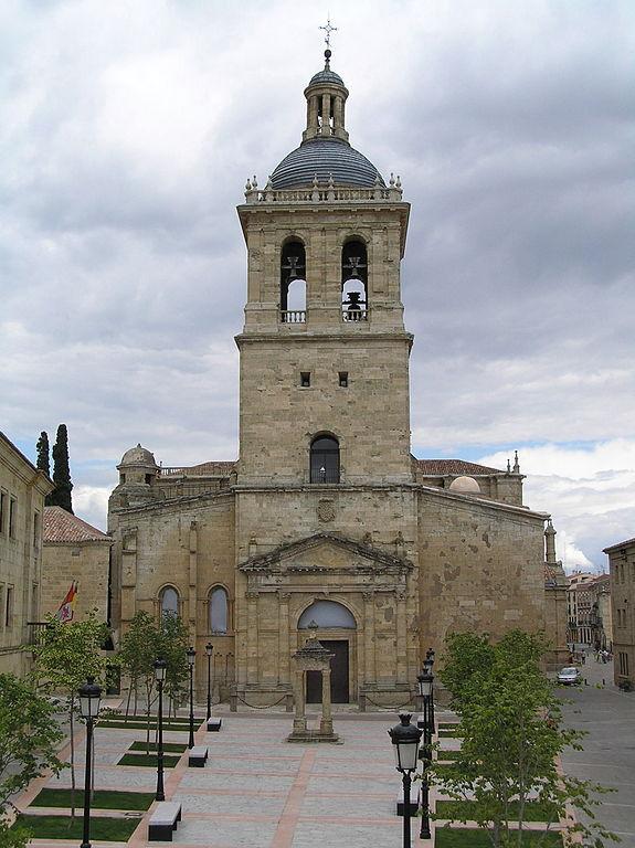 Oorlogsschade Kathedraal van Ciudad Rodrigo