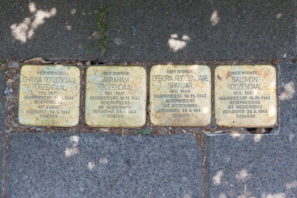 Stolpersteine Burgemeester Bloemersstraat 5