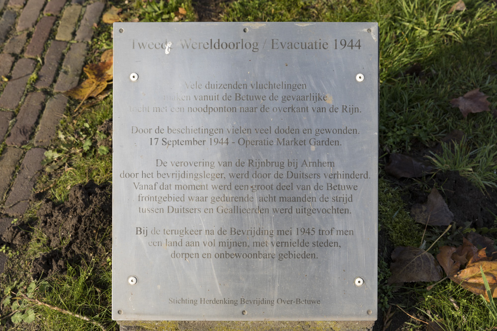 Evacuatiemonument 1944 Doornenburg