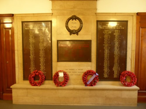 War Memorial Joshua Tetley and Son Brewery Ltd