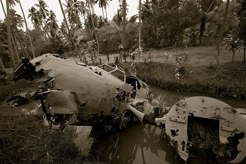 Restant Mitsubishi Ki-21 Bommenwerper Rabaul