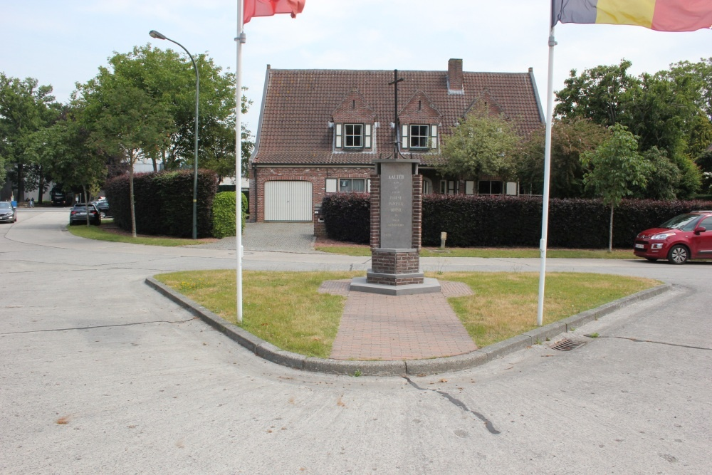 Monument 1ste Poolse Pantserdivisie Aalter