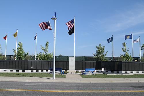 Monument Vietnam-Oorlog Wildwood