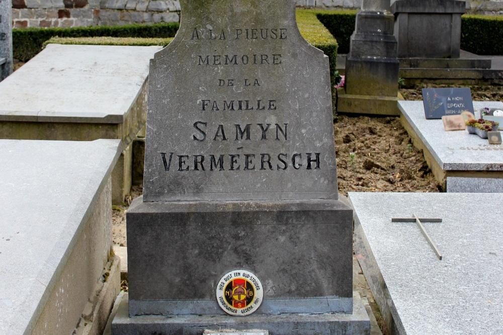 Belgisch Oorlogsgraf Nieuwkerke