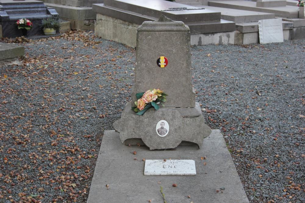 Belgian War Grave Lahamaide