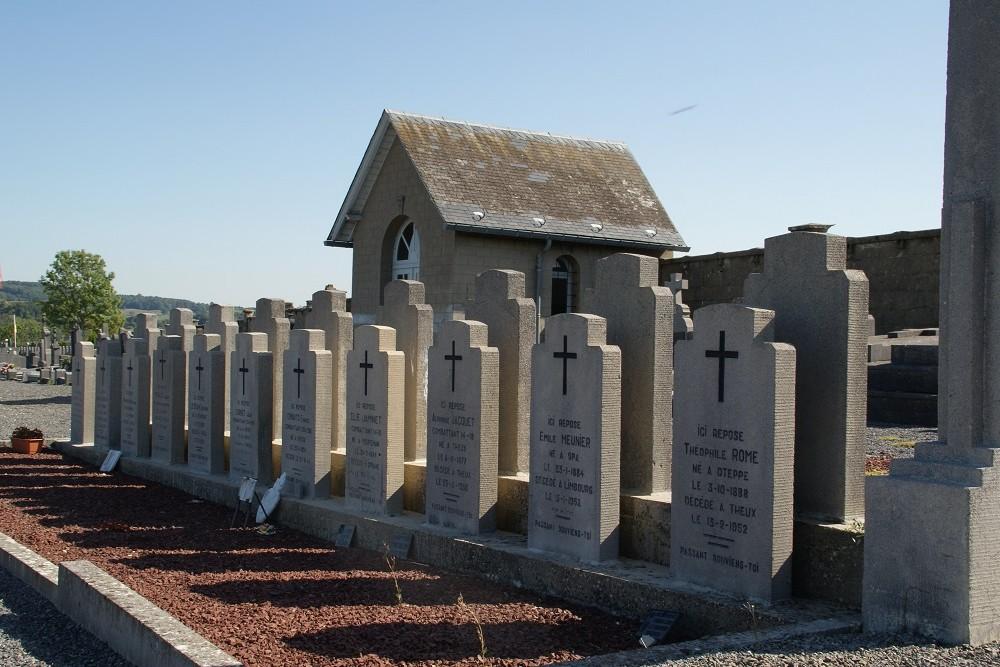 Belgian War Graves Theux