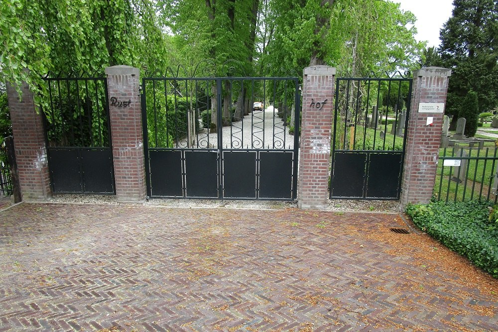 Dutch War Memorial and War Graves Rusthof Cemetery Ridderkerk