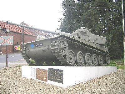 Tank Memorial Battle of Montcornet