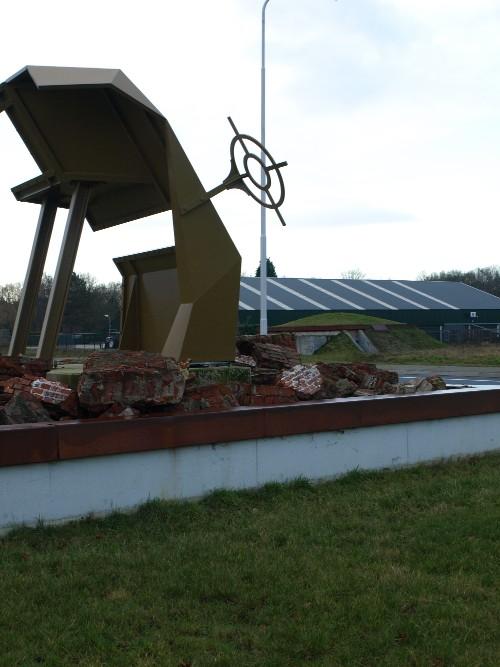 Artwork Demolished German Bunkers