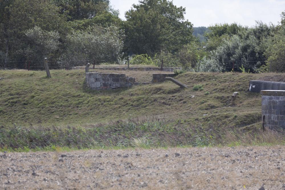 Stützpunkt Heinrich - MG Wall