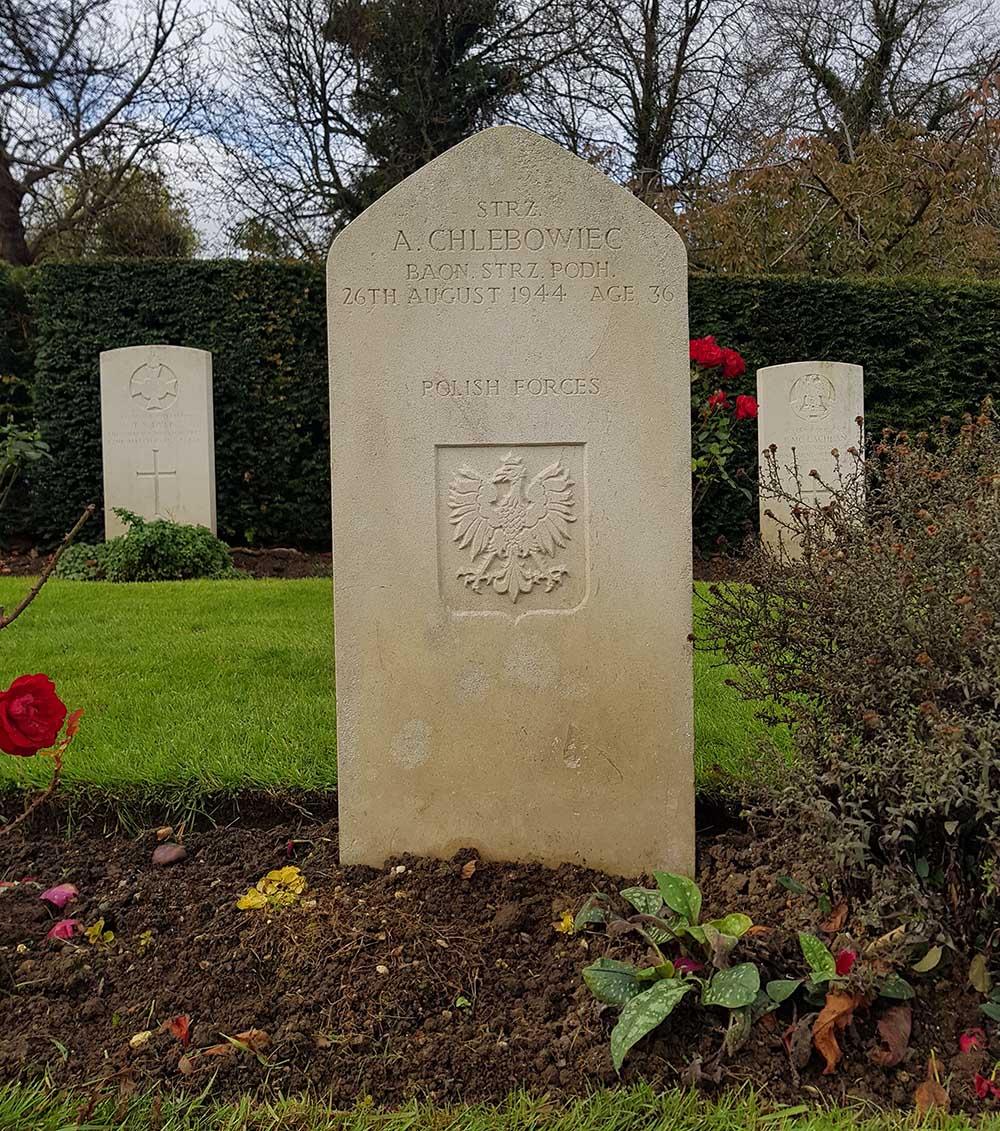 Polish War Graves Oxford-Botley