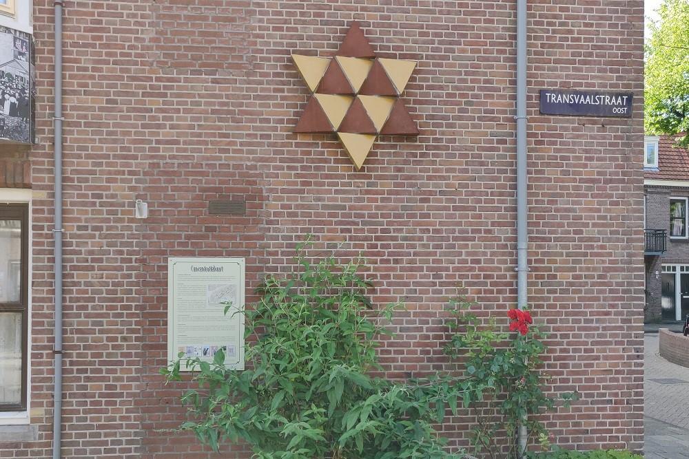 Joods Monument Transvaalplein Amsterdam