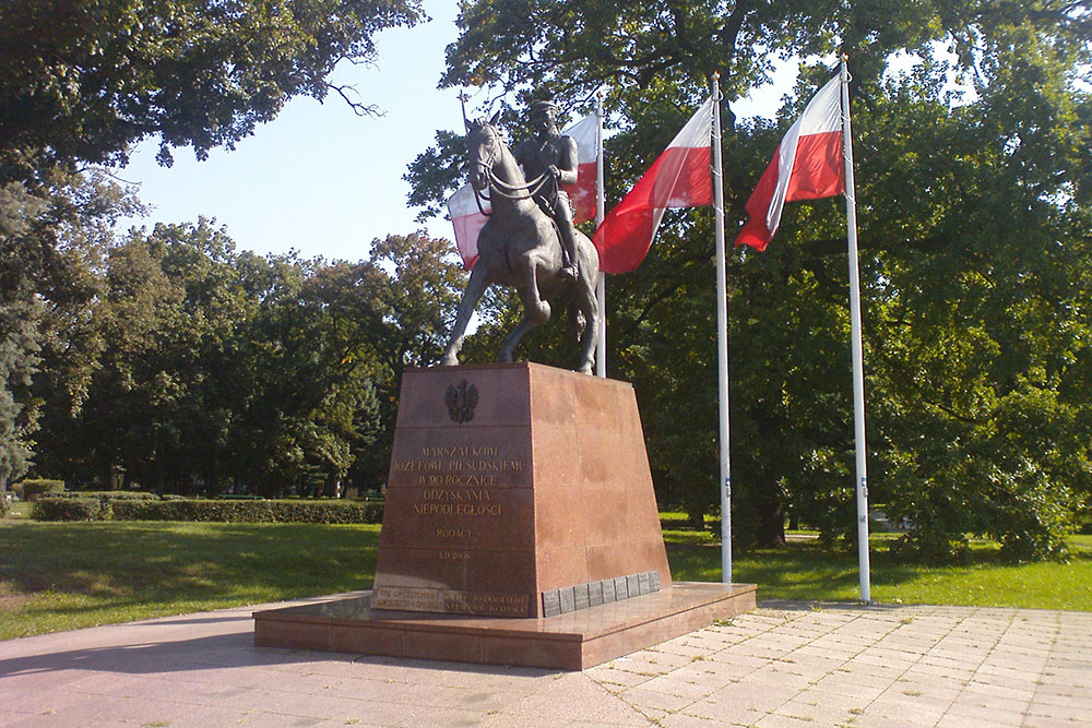 Monument Jozef Pilsudski Gorzów Wielkopolski