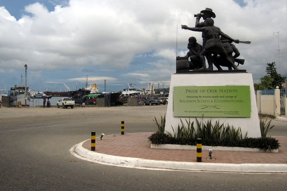 Solomon Scouts & Coastwatchers Memorial