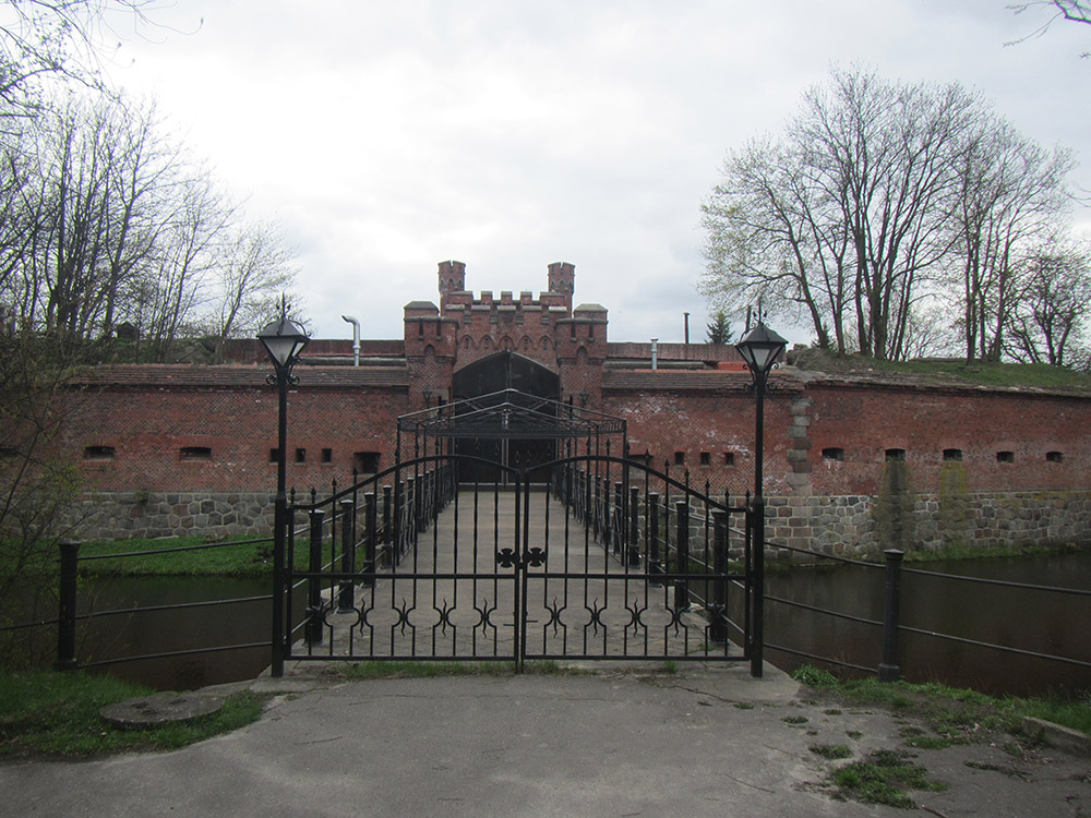 Festung Königsberg - Rossgärter Tor - Kaliningrad - TracesOfWar com