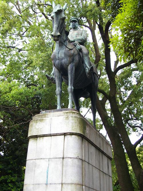 Monument Veldmaarschalk Oyama Iwao