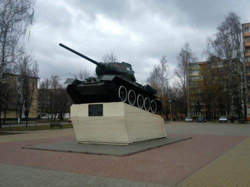 Bevrijdingsmonument (T-34/85 Tank) Mogilev