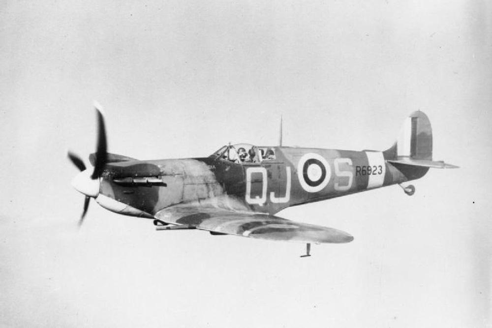 Crashlocatie Supermarine Spitfire VB BL815