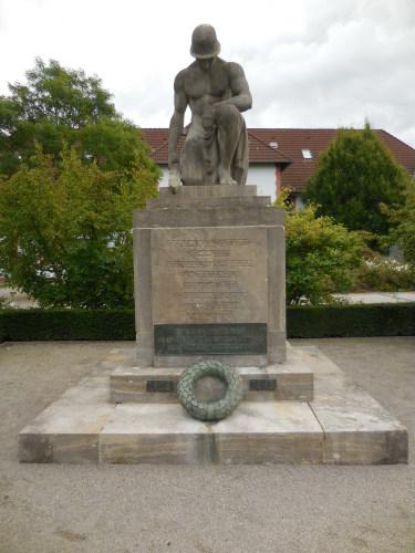 Plaquette Slachtoffers Eerste en Tweede Wereldoorlog