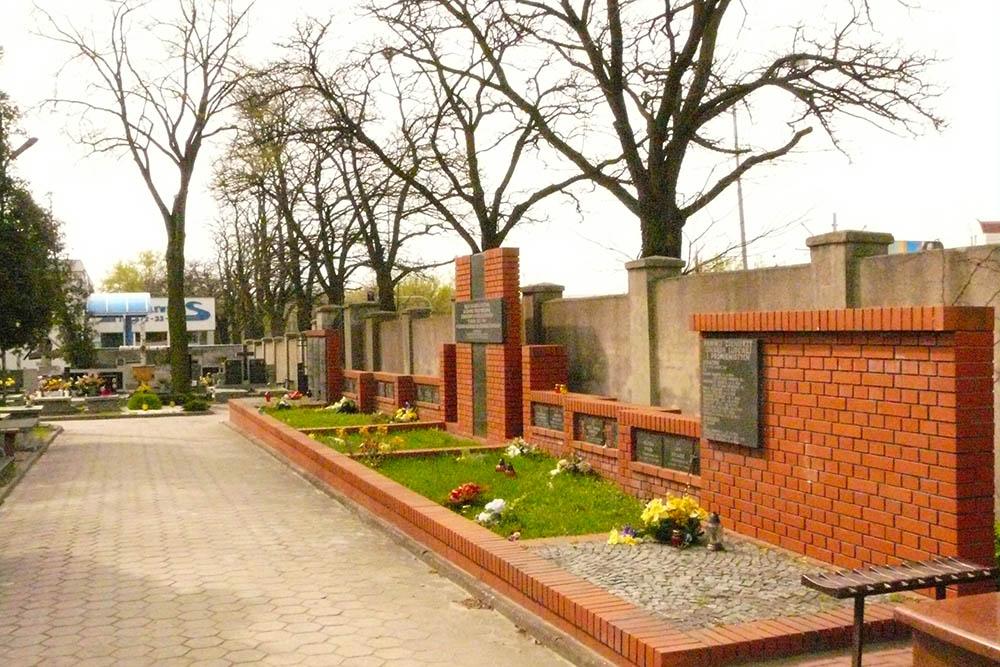 Poolse Oorlogsgraven Łodz-Radogoszcz