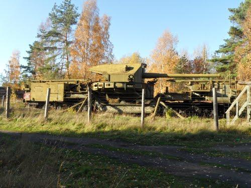 180mm Spoorweggeschut ТМ-1-180