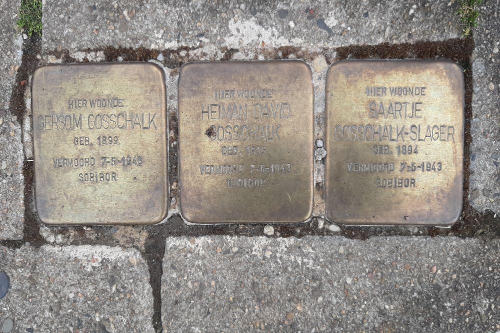 Stolpersteine Paul Krugerstraat 7