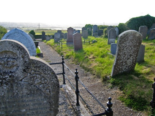 Oorlogsgraven van het Gemenebest Island Magee Old Churchyard