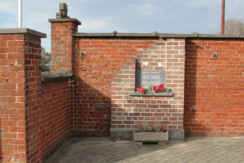 Monument Verzetsstrijders Dergneau