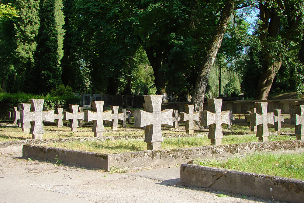 Military Cemetery ul. Lipowej Lublin