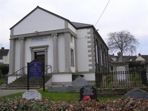 Commonwealth War Grave Randalstown First Presbyterian Churchyard