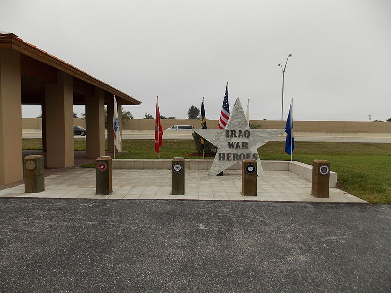 Monument Irak-oorlog Cape Coral