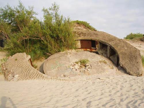 Festung Pillau - Duitse Kustbatterij