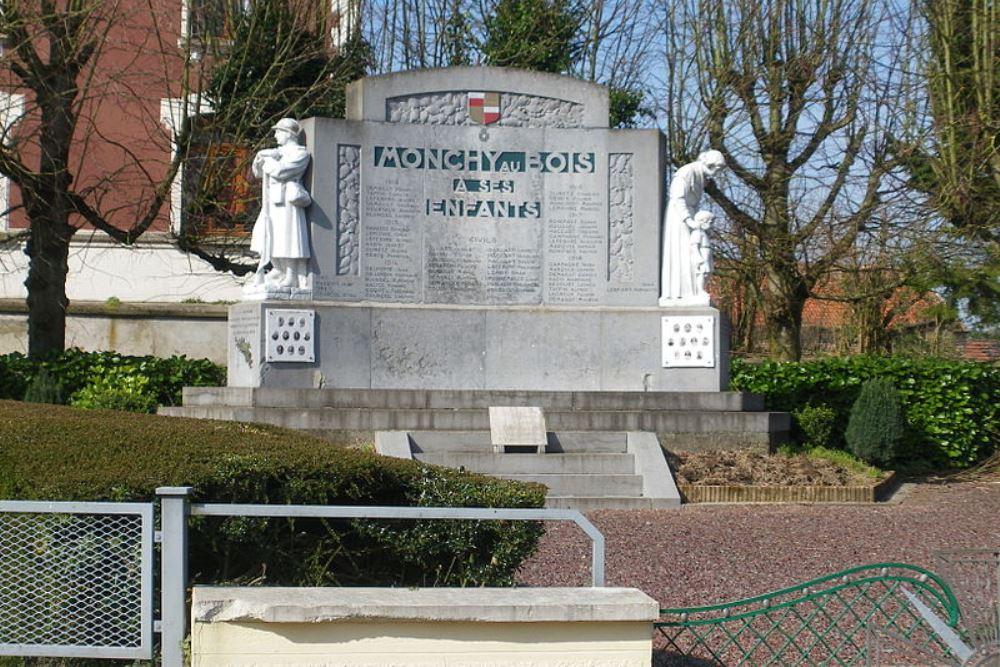 War Memorial Monchy-au-Bois