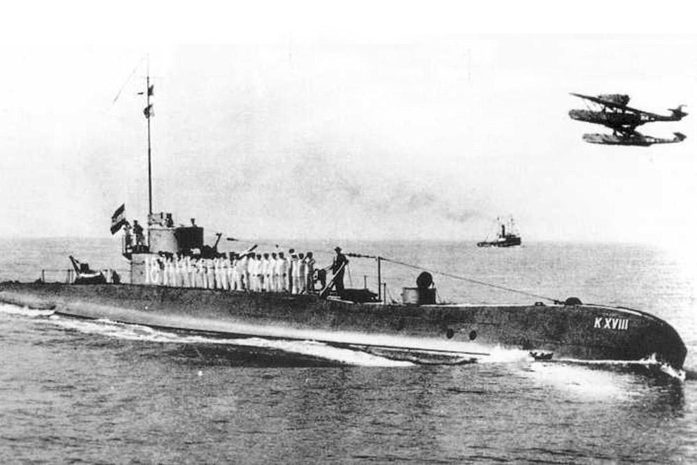 Scheepswrak Onderzeeboot HNLMS K XVIII