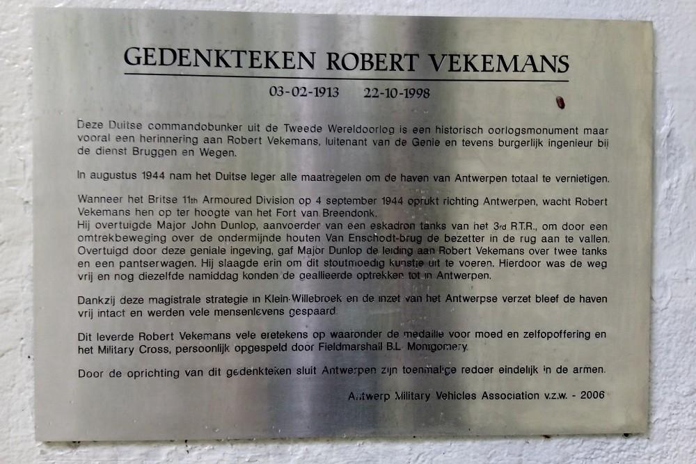 Duitse 622-Bunker Antwerpen