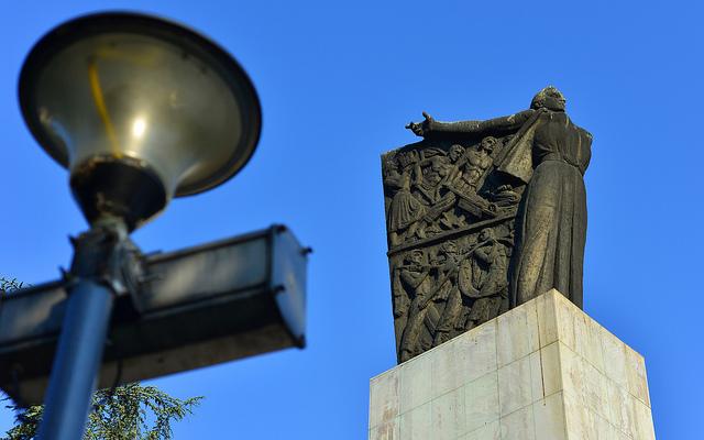 Monument Omgekomen Partizanen Belgrado