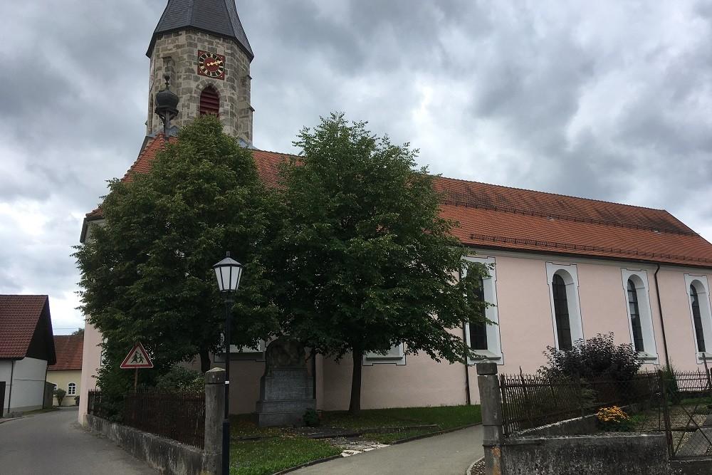 War Monument Harthausen Auf Der Scher
