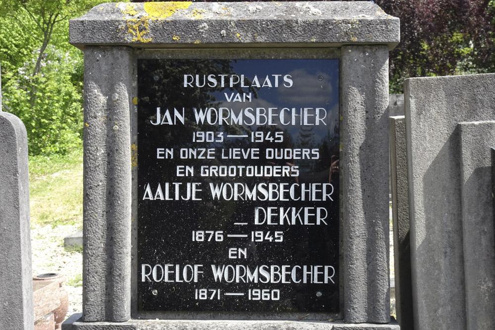 Nederlandse Oorlogsgraven Oude Algemene Begraafplaats Hoorn