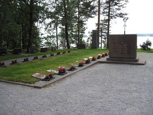 Finnish War Graves Angelniemi