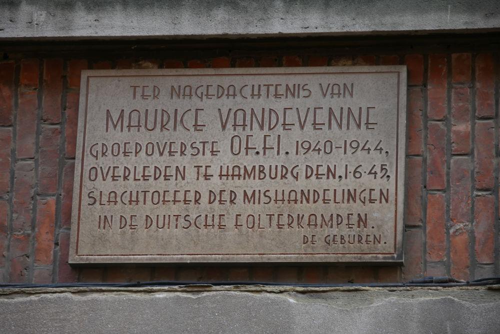 Memorial Resistance Fighter Leuven