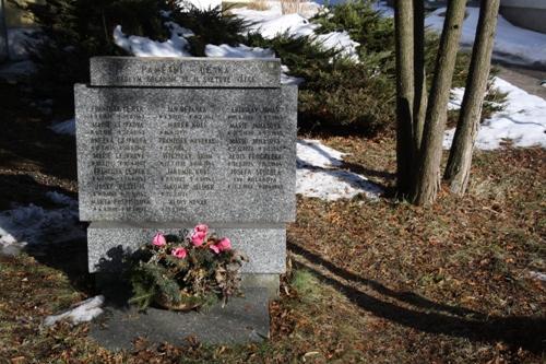 War Memorial Kamenice