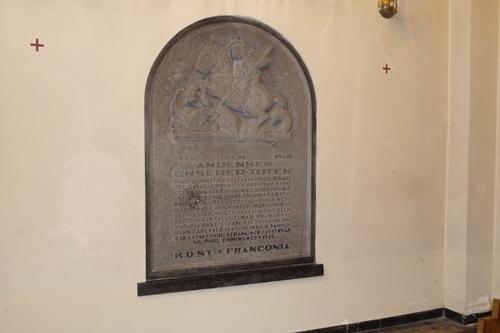 Monument Eerste Wereldoorlog Franconia
