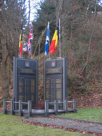 Monument 51e Highland Division La Roche-en-Ardenne