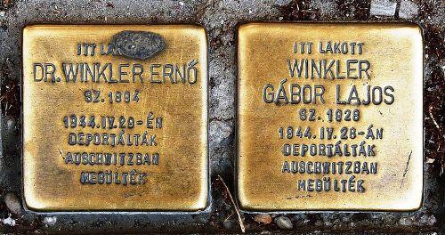Stumbling Stones Zrínyi Miklós utca 33