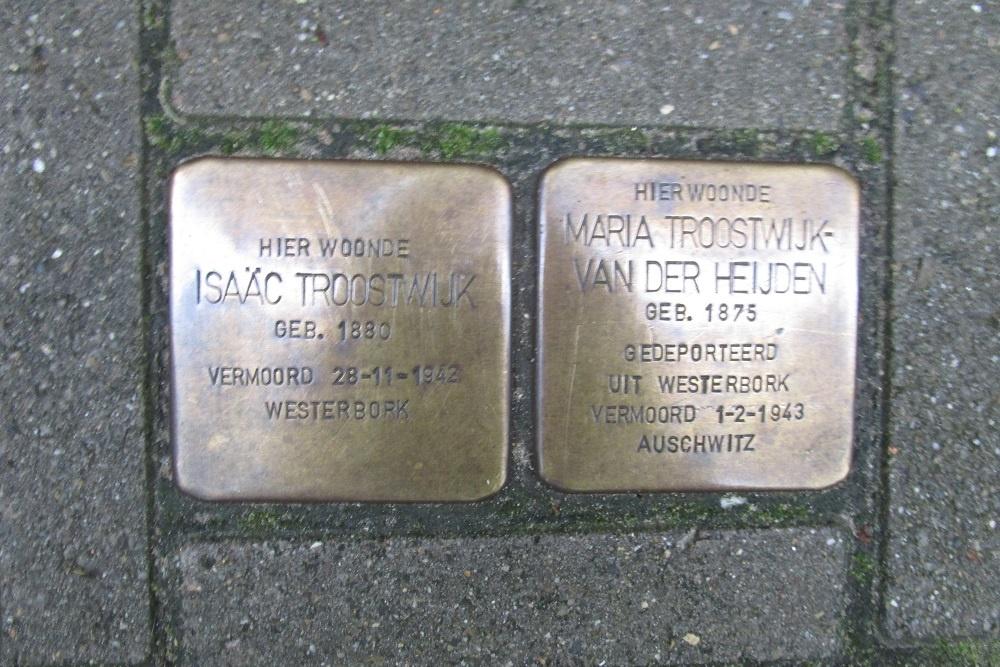 Remembrance Stones Lomanstraat 46