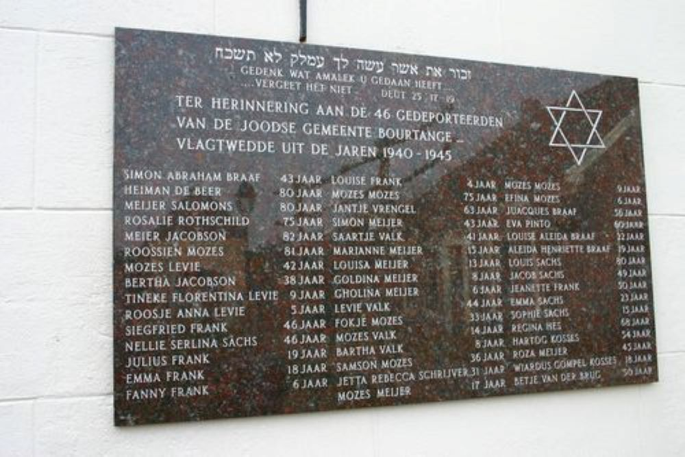 Jewish Monument Bourtange