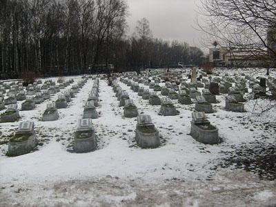 Soviet War Graves Bolsheohtinskoe Cemetery