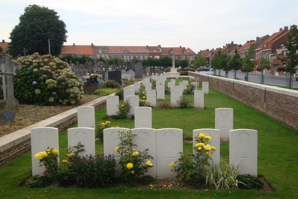 Oorlogsgraven van het Gemenebest Nieuwkerke